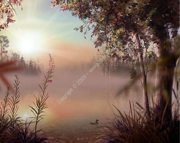 Fog Lake Screensaver v1.1 Build 3 Crack