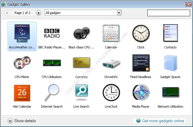 Windows Vista Sidebar Crack