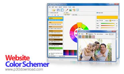 CoffeeCup Website Color Schemer v4.1 Crack
