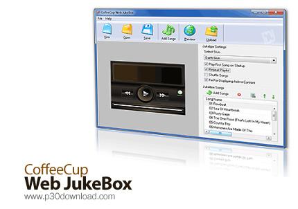 CoffeeCup Web JukeBox v4.6 Build 1 Crack
