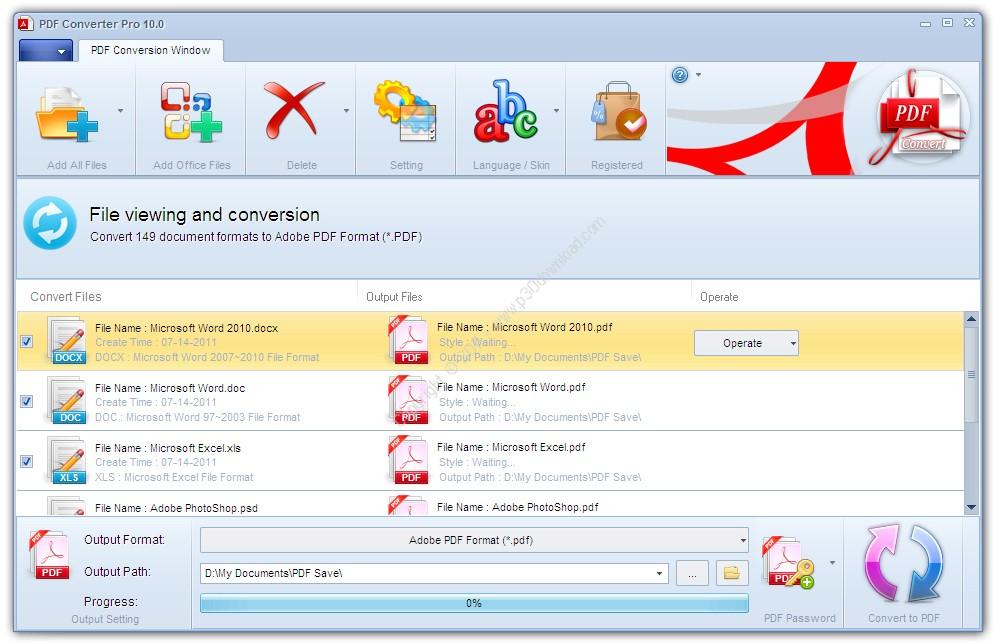 PDF Converter Pro v10.09 Crack
