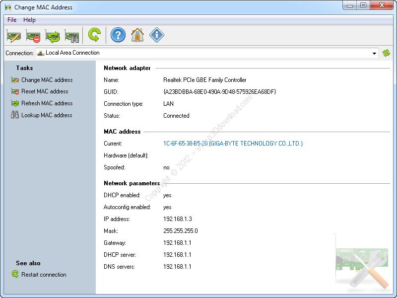 Change MAC Address v2.12.0 Build 112 Crack
