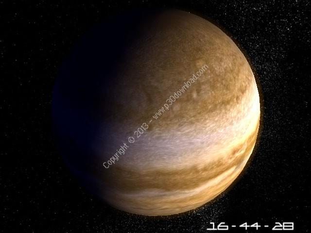 Planet Jupiter 3D Screensaver v1.1 Crack