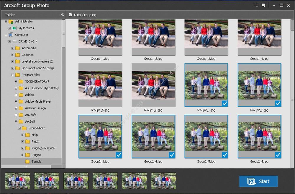 ArcSoft Group Photo v1.0.0.33 Crack