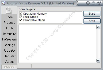 Autorun Virus Remover v3.3 Build 0709 Crack