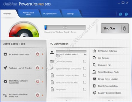 Uniblue PowerSuite 2016 v4.4.2.0 Crack