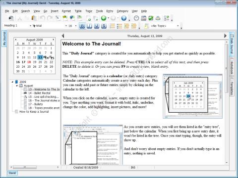 The Journal v7.0.0.1099 Crack