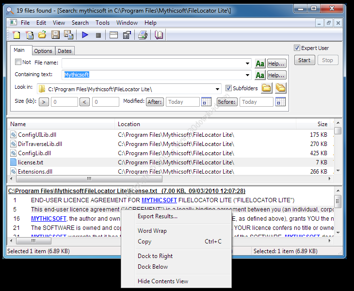 FileLocator Pro v8.2.2744 x86/x64 Crack