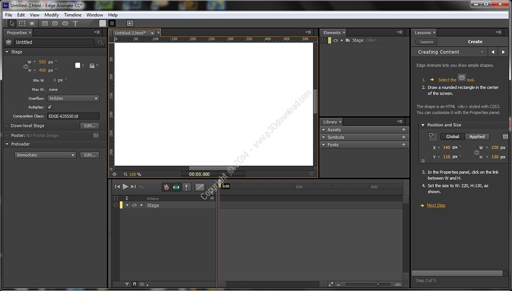 Adobe Edge Animate CC 2014 v4.0 Crack