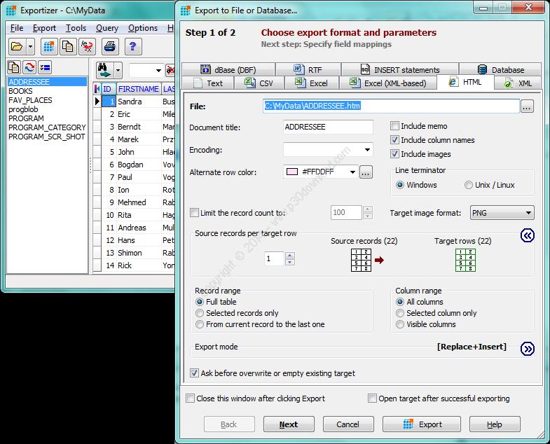 Exportizer Pro v6.2.0.17 Crack