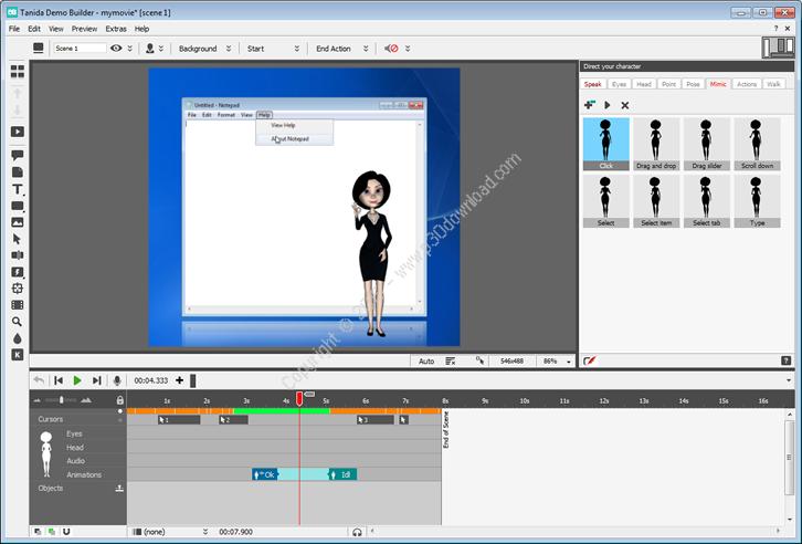 Tanida Demo Builder v11.0.27.0 Crack