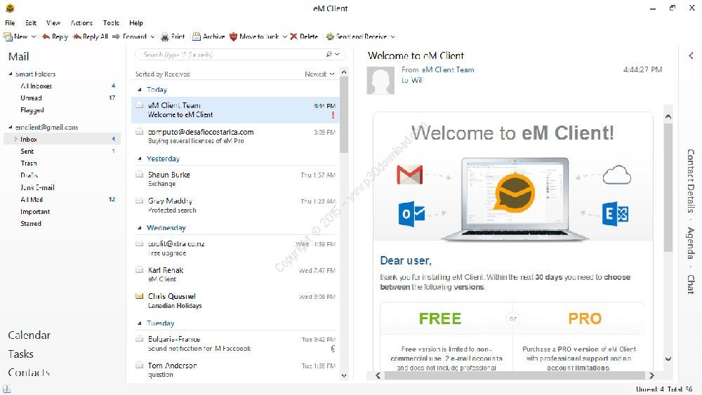 eM Client v7.1.31849.0 Crack