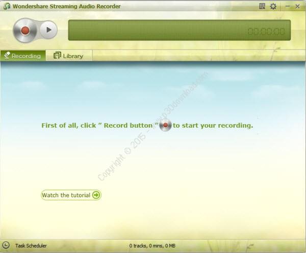 Wondershare Streaming Audio Recorder v2.3.7.1 Crack