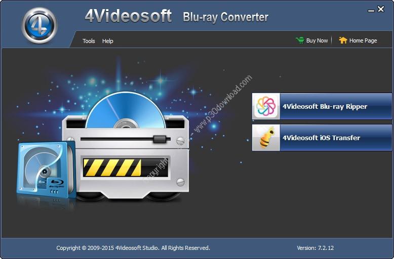 4Videosoft Blu-ray Converter v7.2.16 Crack