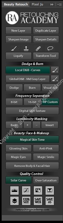RA Beauty Retouch v3.1 for Adobe Photoshop CC 2018/2017 + v3.0.0 + v2.0.0 + v1.0.0 + Pixel Juggler v3.1 + v2.1.0 + v1.0.0 Crack