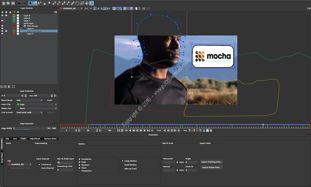 Mocha Pro v5.6.0 Build 1601 x64 + Adobe Plugin x64 + Avid Plugin x64 + OFX Plugin x64 + v3.1.1 x86/x64 Crack