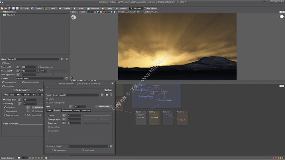 Planetside Terragen Professional v4.1.18 x64 Crack