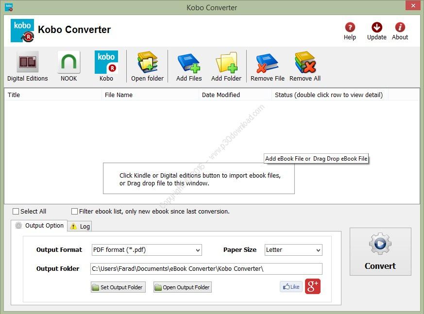 Kobo Converter v3.17.923.393 Crack