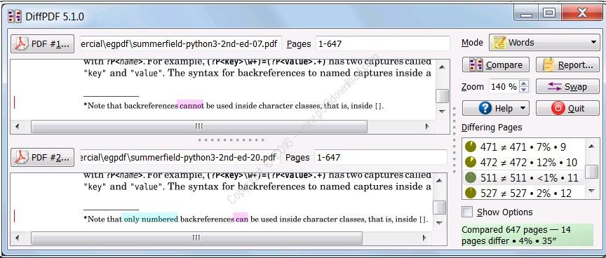 DiffPDF v5.7.0 x86/x64 Crack
