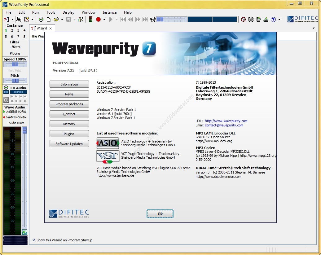 WavePurity Professional v7.93 + Plugins Crack