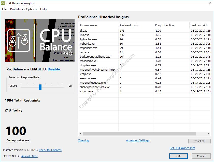 CPUBalance Pro v1.0.0.56 x86/x64 Crack