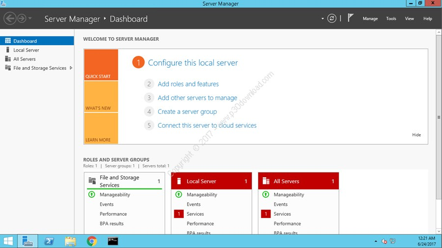 Windows Server 2012 R2 Datacenter x64 Integrated June 2017 Crack