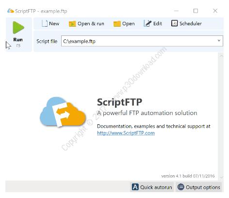 ScriptFTP v4.3 Portable Crack