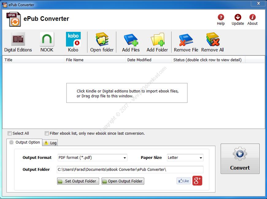 ePub Converter v3.17.1019.377 Crack