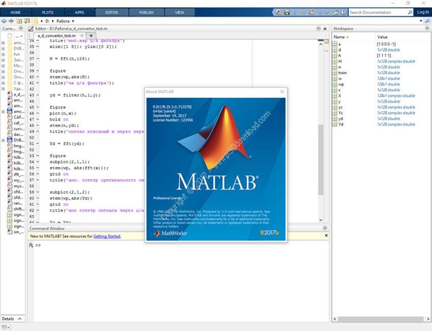 MathWorks MATLAB R2018a v9.4 x64 Crack