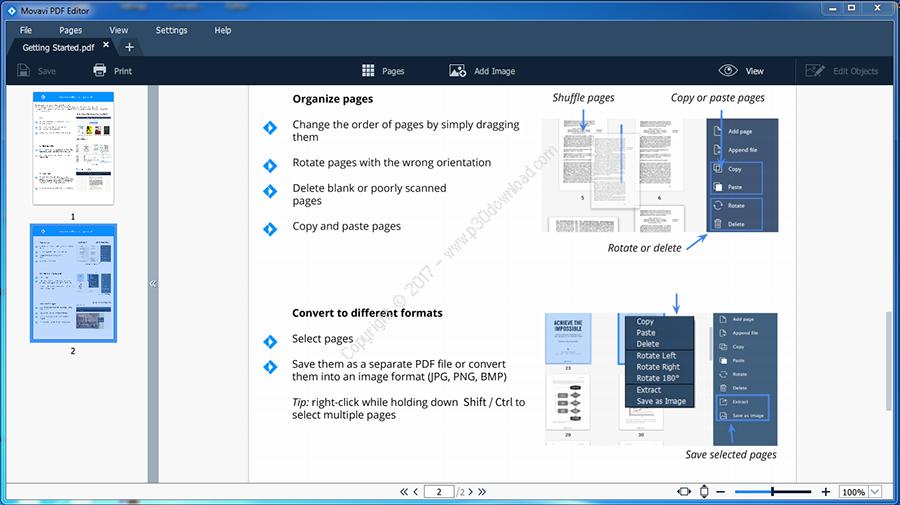 Movavi PDF Editor v1.3 Crack