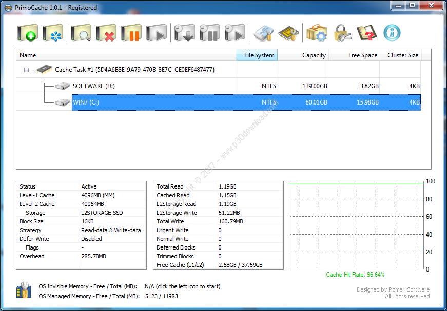 PrimoCache Desktop Edition v2.7.3 Crack