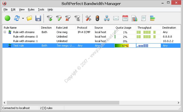 SoftPerfect Bandwidth Manager v3.2.4 Crack