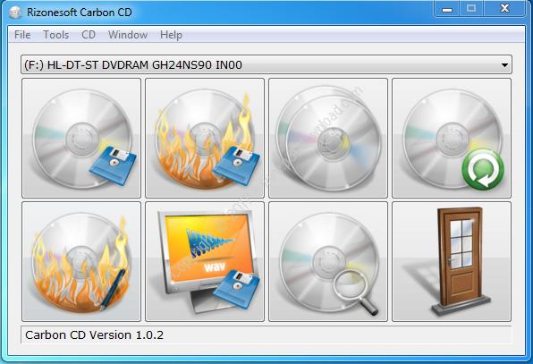 Carbon CD v1.0.2 Portable Crack