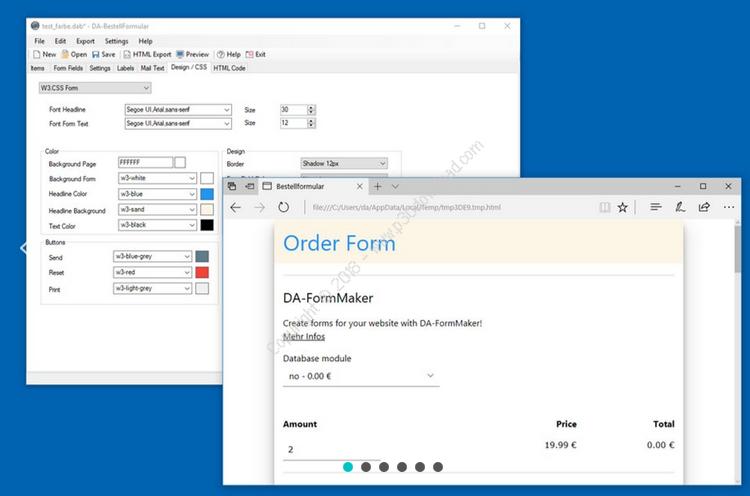 DA-OrderForm v4.1.2 Crack
