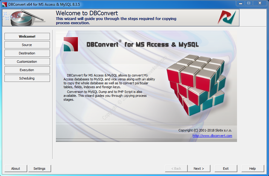 DBConvert for Access and MySQL v8.3.5 x86/x64 Crack