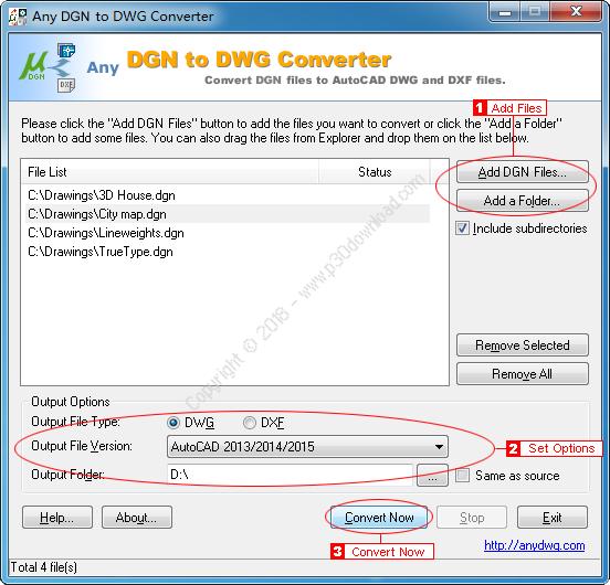 Any DGN to DWG Converter v2018.0 Crack