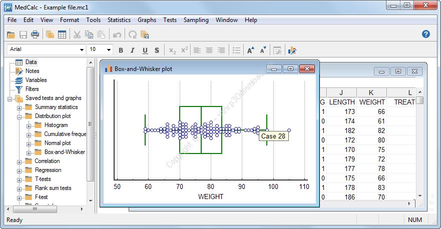 MedCalc v18.2.1 x86 Crack