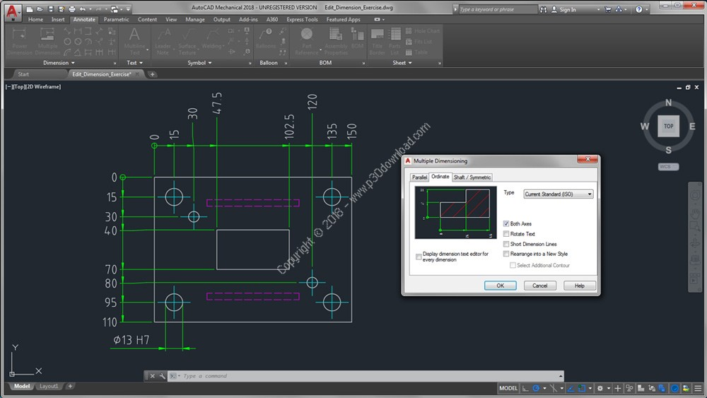 Autodesk AutoCAD Mechanical 2019 x86/x64 Crack