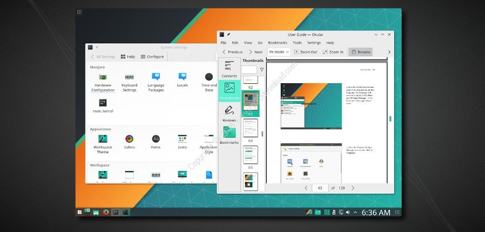 Manjaro Linux XFCE Edition v17.1.7 x64 + GNOME + KDE Crack