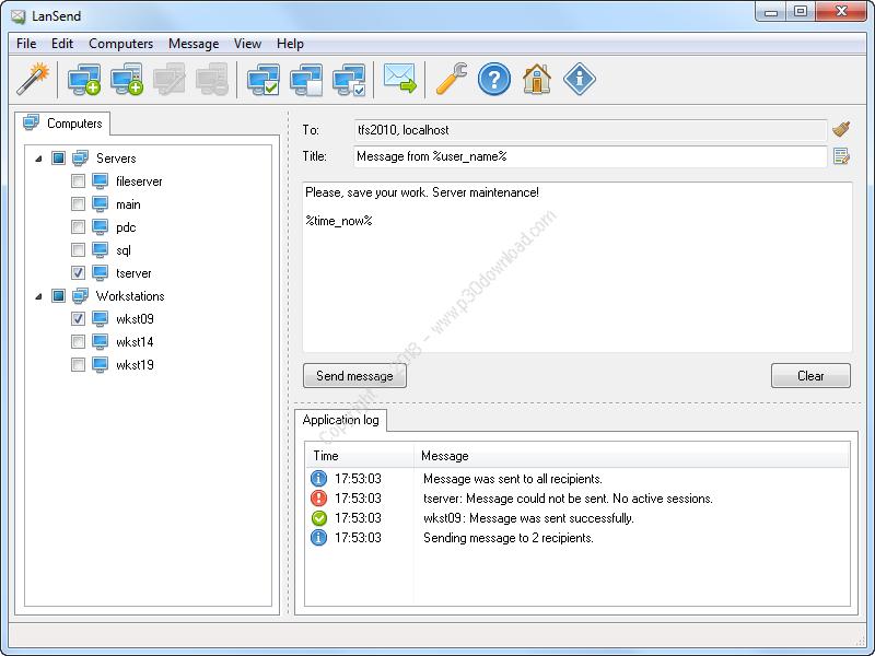 LizardSystems LanSend v2.6.0 Build 63 Crack