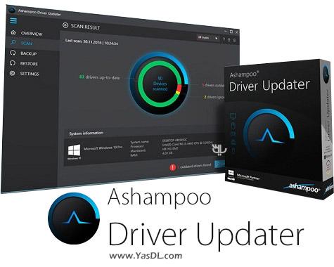 Ashampoo Driver Updater 1.1.0.27413 + Portable Crack