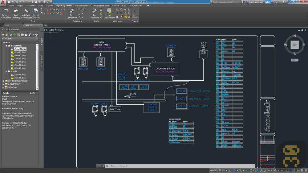 Autodesk AutoCAD Electrical 2018.1.1 - The Newest Version Of AutoCAD Electric + Crack Crack