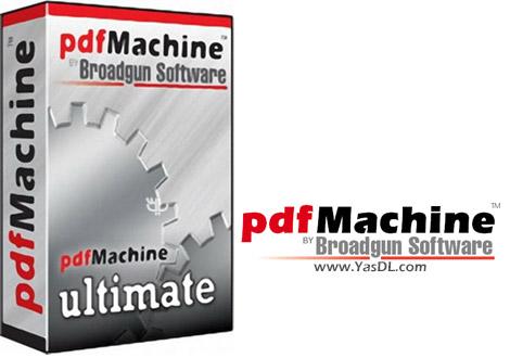 Broadgun pdfMachine Ultimate 15.08 Crack