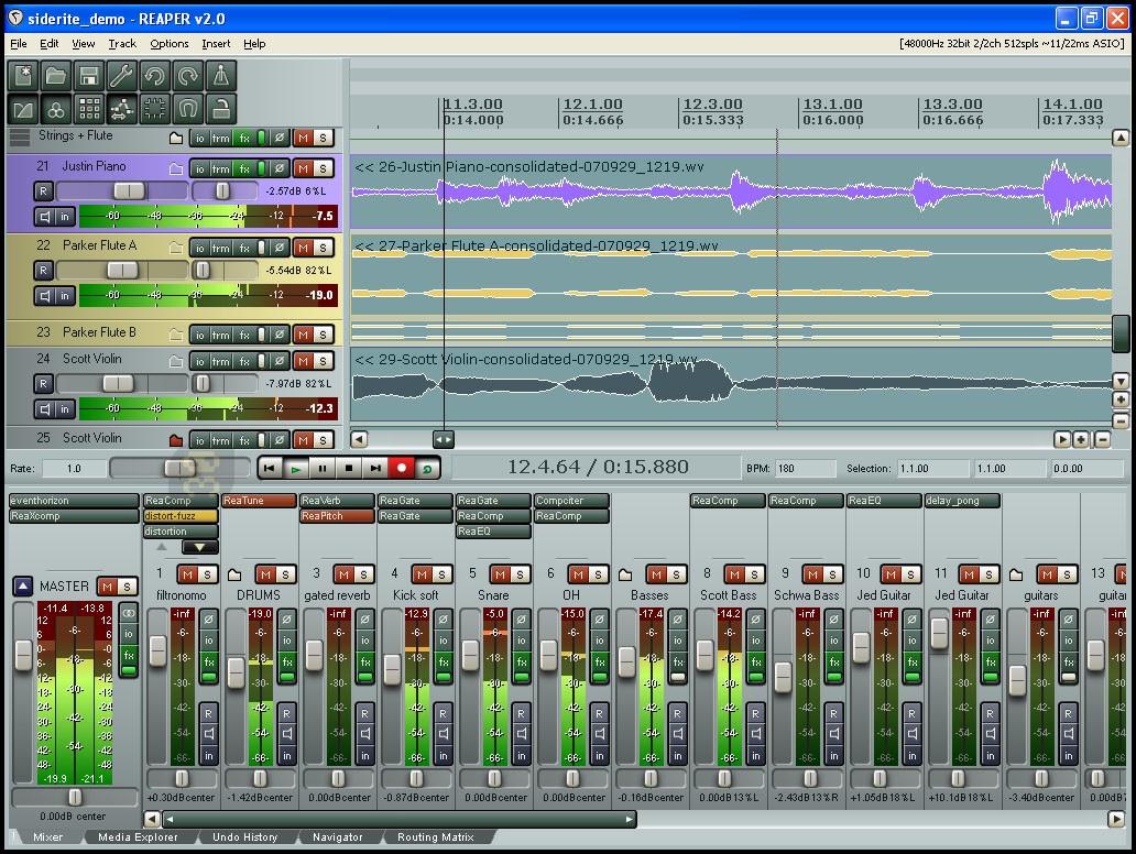 Cockos REAPER 5.201 - Editor And Mixer Audio Files Crack