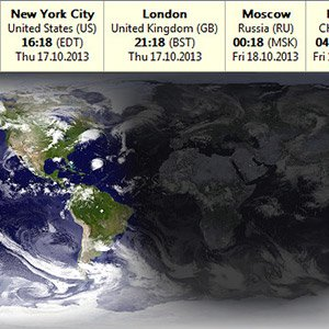 DeskSoft EarthTime 5.5.4 - View World Clocks World Crack