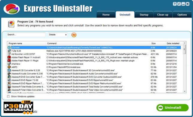 Smart PC Solutions Express Uninstaller 3.1 - Completely Uninstall Apps Crack