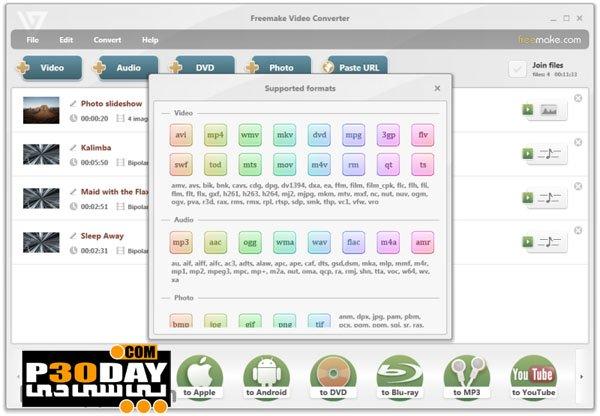 Freemake Video Converter Gold 4.1.9.28 - Various Video Converter Crack