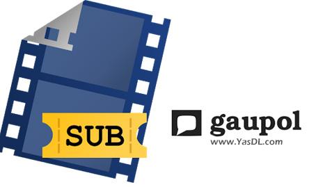 Gaupol 1.2 + Portable Crack