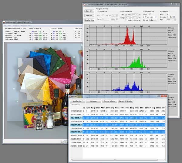RawDigger 1.1.2.388 Profile Edition - Set Color Pictures Crack