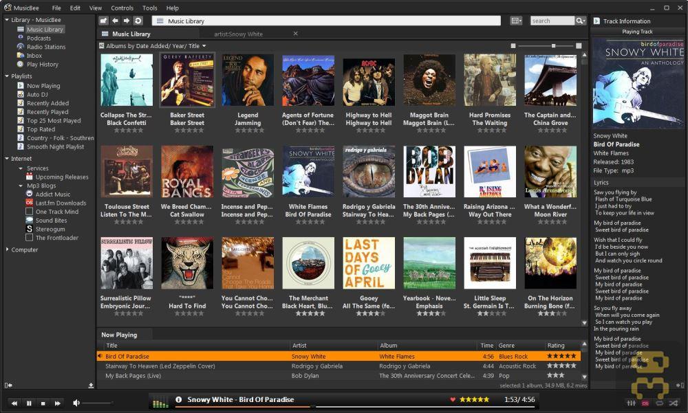 MusicBee 3.1.6590 - Music Player Crack